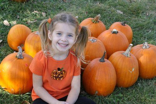 Em pumpkin web