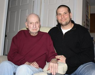 Grandpa and chris