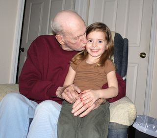 Grandpa and em