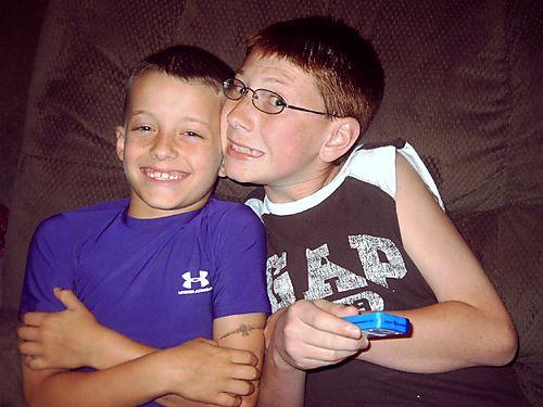 Mason and Brandon