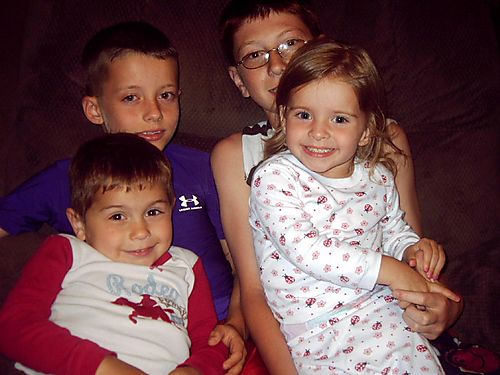 Mason, Liam, Emma and Brandon